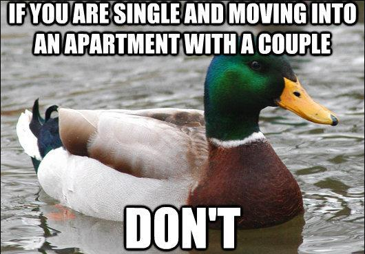 Moving In With A Couple