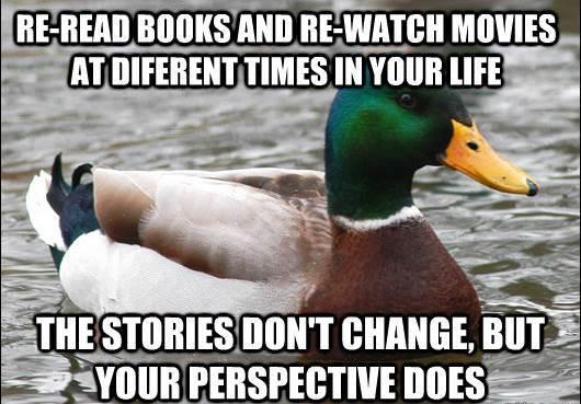 Actual Advice Mallard On Book Reading