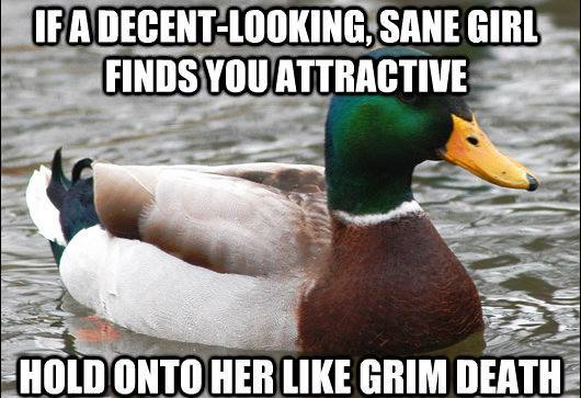 actual advice mallard sane attractive girl The Genius Of Actual Advice Mallard