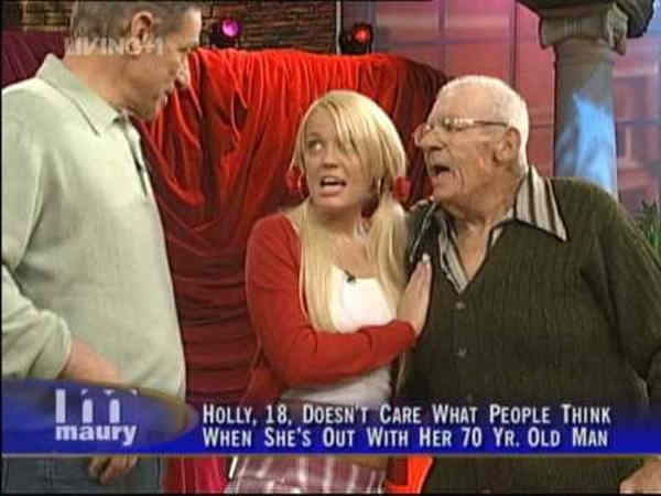 Best Daytime Television Screenshots 70 Year Old Boyfriend