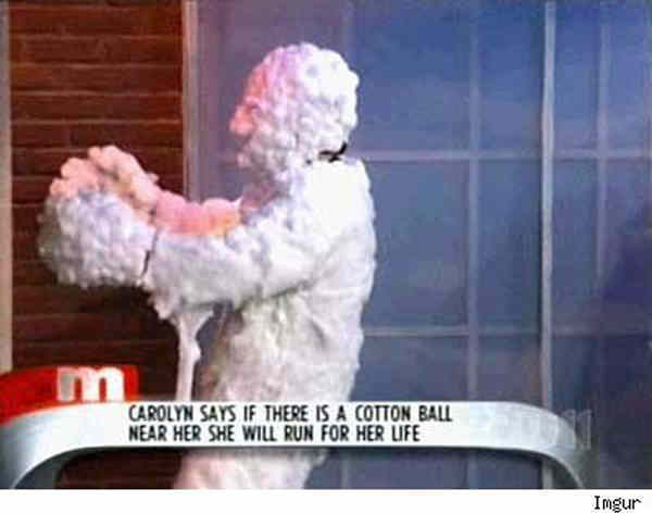 Best Daytime TV Screenshots Scared Of Cotton Balls