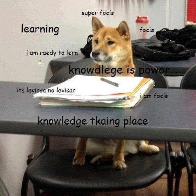 At School