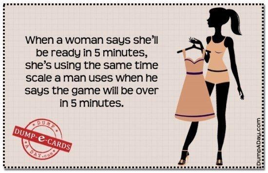 best-dump-ecards-woman-getting-dressed