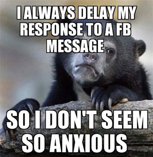 Delayed Responses In Facebook