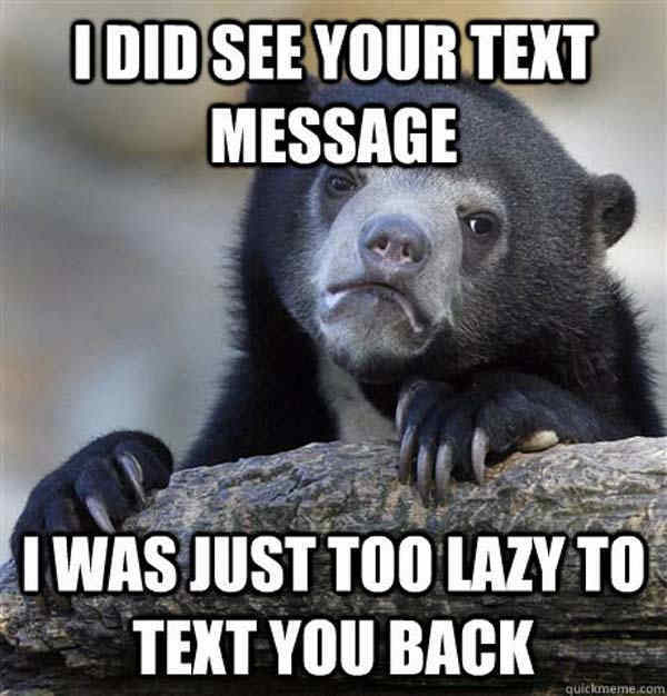 Not Responding To Texts