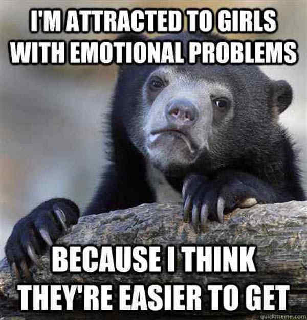 Emotional Girls With Problems