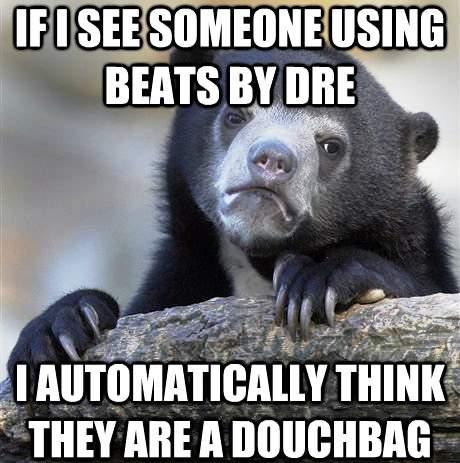Confession Bear Memes Beats By Dre