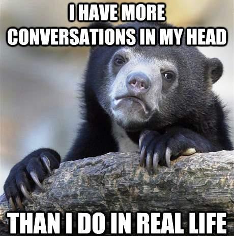 Conversations Confession Bear Memes