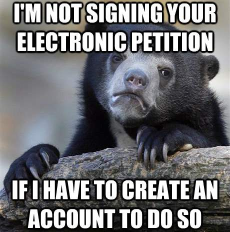 Electronic Petitions