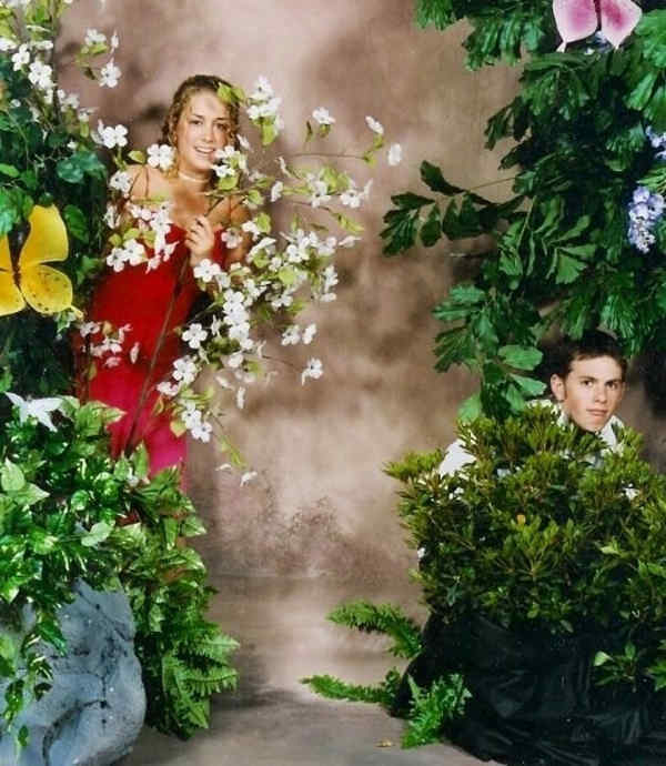 Prom Fail In The Bushes