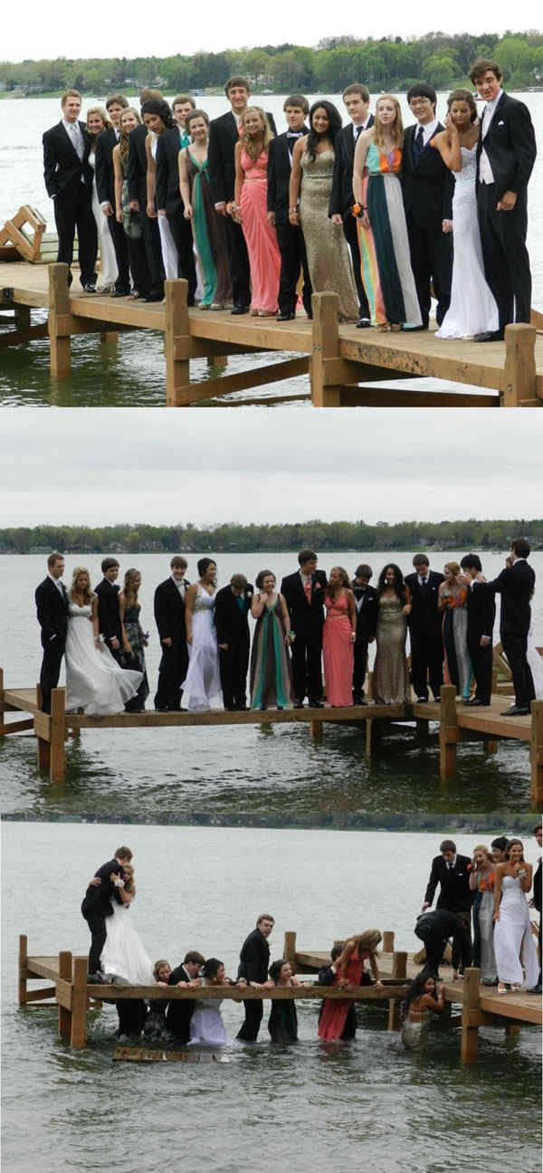 Lake Prom Photos Fail