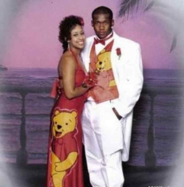 Pooh Bear Prom Dress