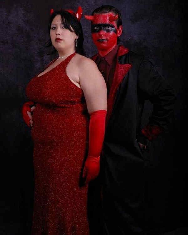 Satan At Prom Dance