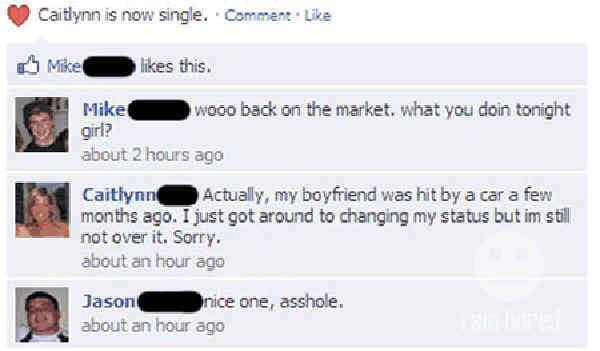 funniest-facebook-flirting-fails-hit-by-car