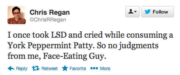 Funniest Tweets Ever LSD Face Eating