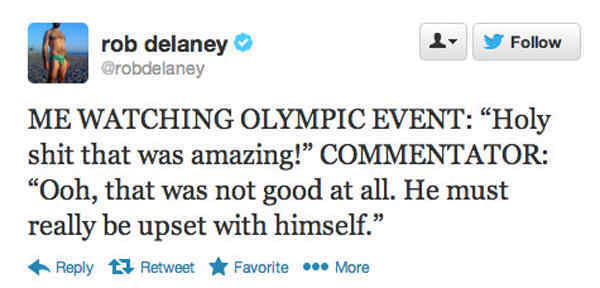 Funny Tweets About The Olympics
