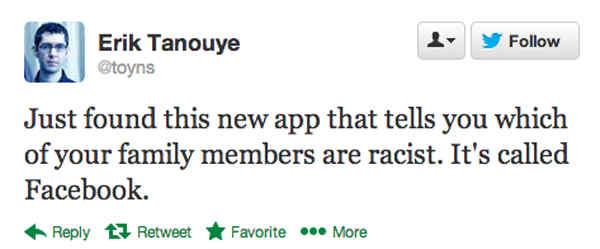 Facebook Racism