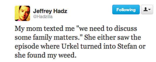 Family Matters Tweet