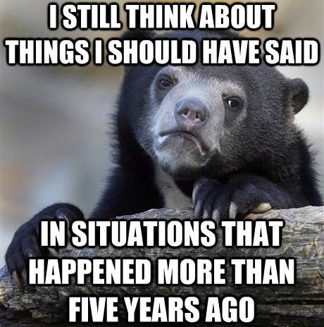 Funny Confession Bear Memes