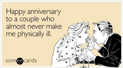 Happy Anniversary Someecard