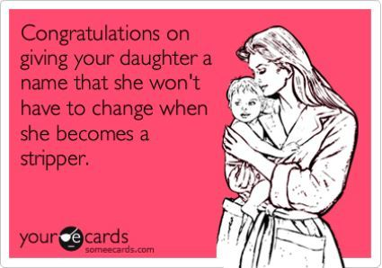 Congratulations On The Daughter Somecard