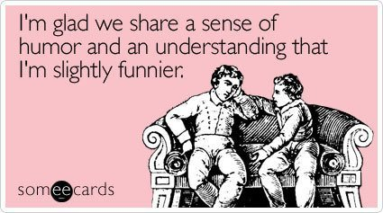 I'm The Funny One Friendship Card