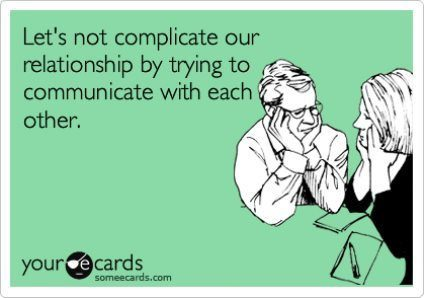 Let's Not Complicate Our Relationship Ecard