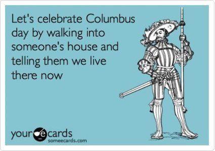 Columbus Day SomeEcard