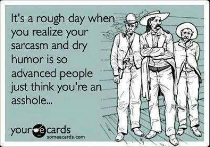Dry Humor eCard