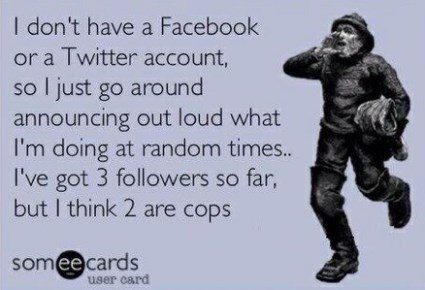 Getting Followers eCard