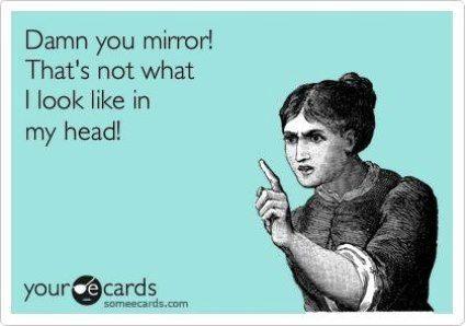 The Mirror Tells Lies!