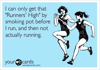 Runners High Funny Someecards