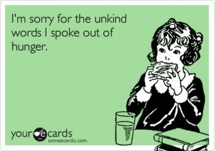 Sorry For The Unkind Words Ecard