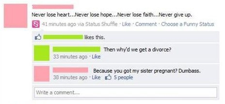 Divorce Comment