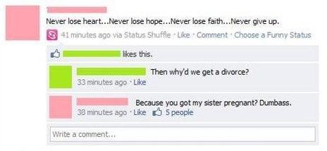 Divorce Comment