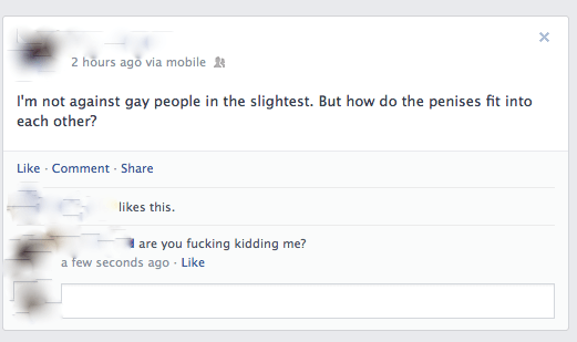 Facebook Comments How Do Gay People Work