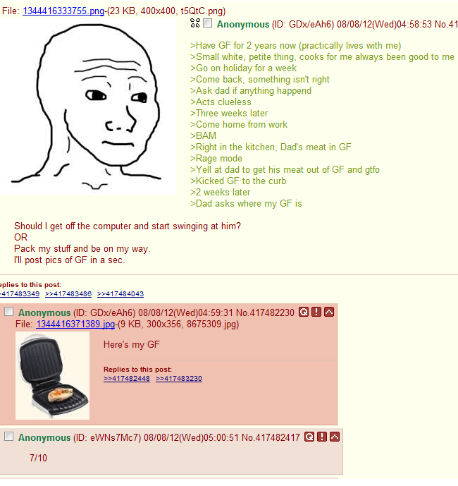 Funniest 4Chan Threads George Foreman