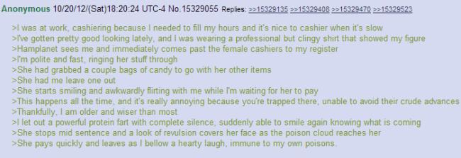Grocery Store Flirting