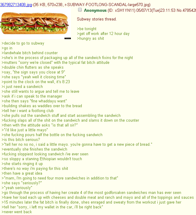 Funniest 4Chan Threads Subway