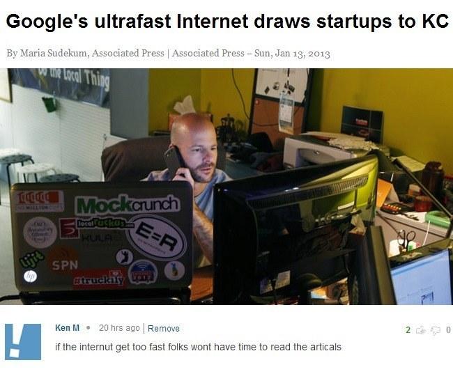 Internet Troll On Fast Internet