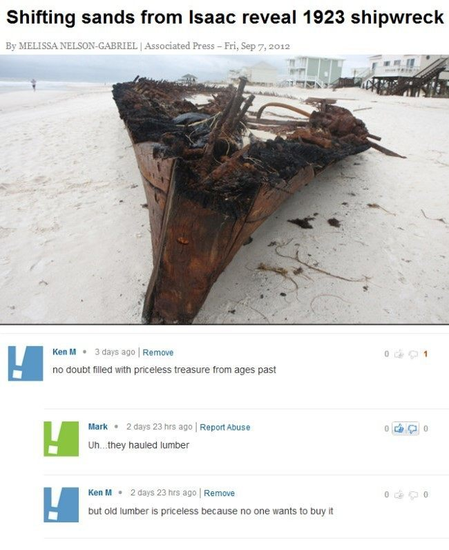 Ken M On Hurricane Isaac