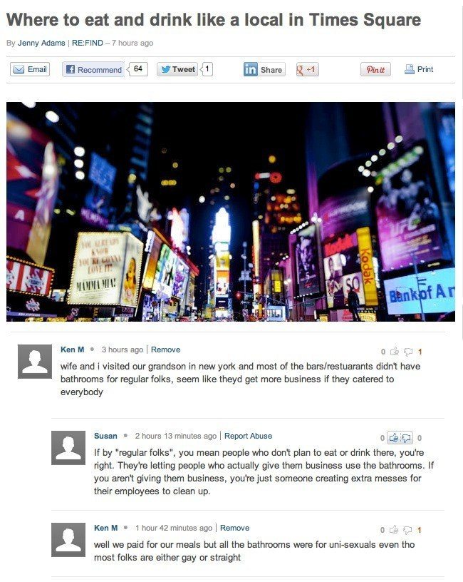 Ken M Master Comments Troll