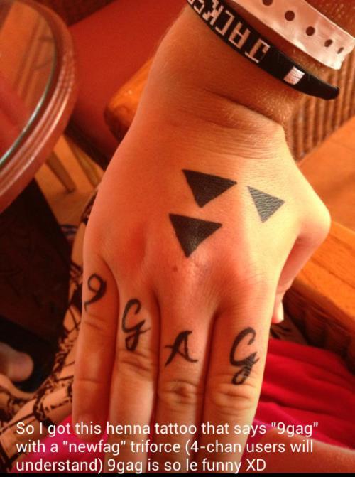 9GAG Tattoo