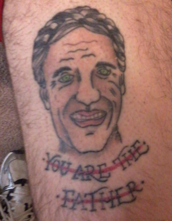 Maury Povich Tattoo