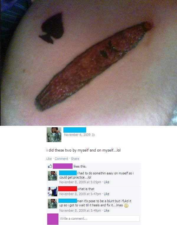 Bad Tattoos Poop