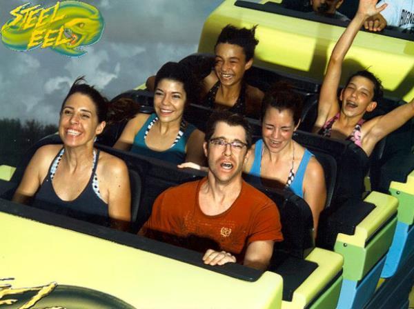 Funny Gallery Of Roller Coaster Photos