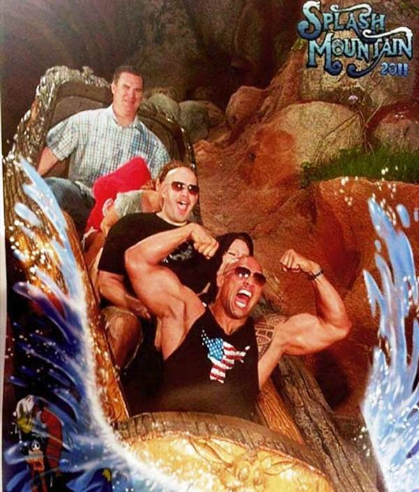 Funniest Roller Coaster Pictures The Rock