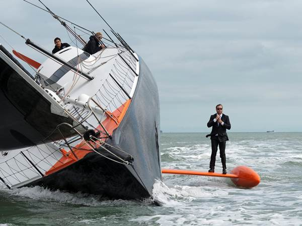 Capsized Boat Perfect Picture