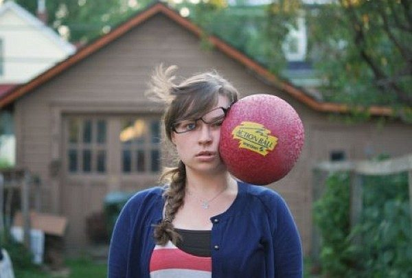 Dodge Ball Perfectly Timed Photos