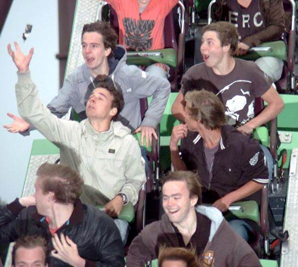 Epic Roller Coaster Photos